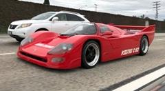 公道を走るレーシングカー ケーニッヒ C62を公道で運転してみた