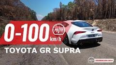 トヨタ GRスープラ 0-200km/h 加速動画