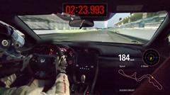 ホンダ シビック TYPE R Limited Edition 鈴鹿FWD最速 2分23秒993 フルオンボード動画
