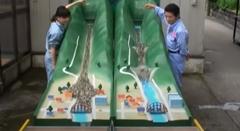 砂防ダムのすごさがわかる動画