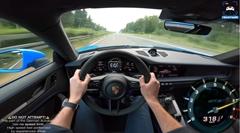 ポルシェ 992 GT3 の最高速度をアウトバーンで実測してみた