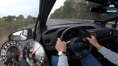 トヨタ ヴィッツ GRMN アウトバーン最高速度実測動画