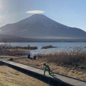山中湖畔にカッパがいました!