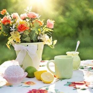 お花を飾ってhappy❤️