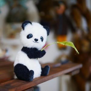 パンダちゃん 出来ました