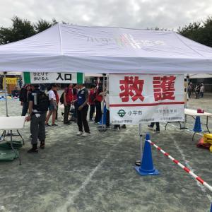 小平市防災訓練