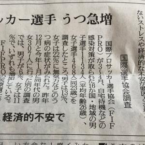 コロナ問題→うつ問題