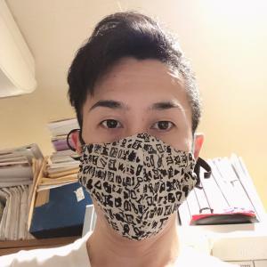 マスクを楽しむ