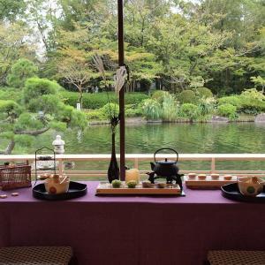 【茶室で正座無し!お抹茶体験&組子コースタ作りの和カフェレッスン】