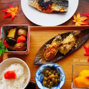 【秋の味覚*お弁当や休日お昼ご飯】