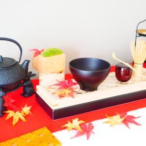 【組子コースターキット&お抹茶を点てる時間】