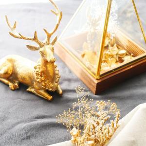 【トナカイの飾りでクリスマスコーディネート】