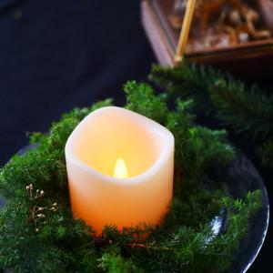 クリスマステーブル準備