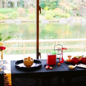 【報告①*茶室でお抹茶&組子コースター作り】
