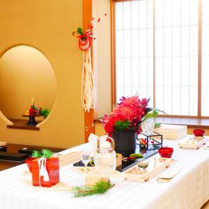 【報告②*お茶室でお正月テーブルコーディネートレッスン】