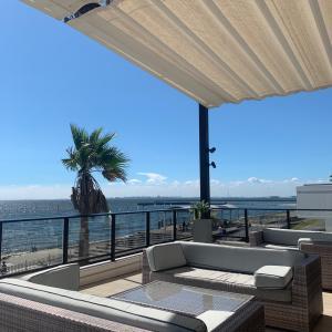 【素敵な海辺テラスでランチ@ザサーフオーシャンテラス千葉稲毛海岸】