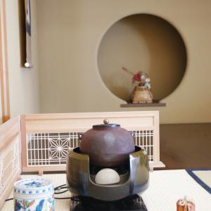 【報告*秋の茶室で組子を楽しむ和カフェ①】