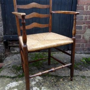 Ladder-Back Country Chair