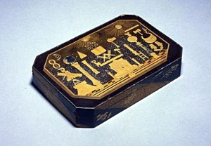 Masonic network, material culture and international trade