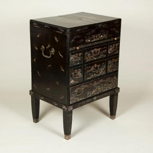 Lacquer Cabinet on Stand?