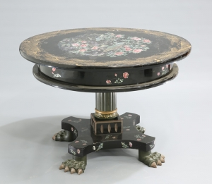 Then Japanese Export Lacquer Centre Table
