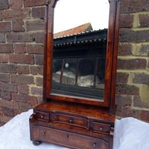 Queen Anne Dressing Mirror