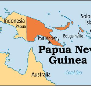 パプアニューギニアのスツール