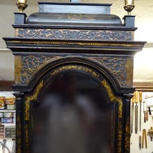 Black Japanned Longcase Clock