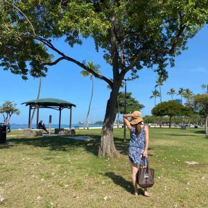 アラモアナビーチでピクニック☆GWは1日2回投稿