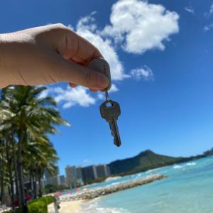 夢にまで見たハワイ基地