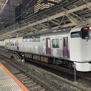215系湘南ライナー 21.1.12東京駅にて