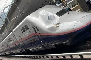 E4系Max 東京駅にて