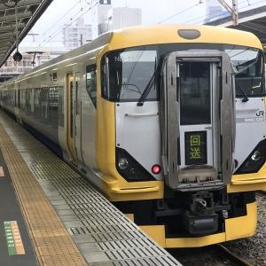 E257系平塚駅にて