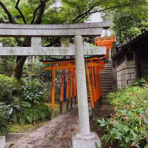 上野恩賜公園の神社仏閣に。