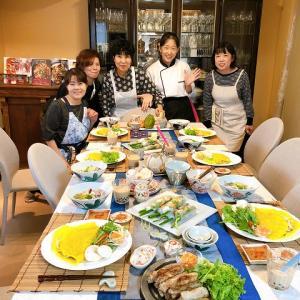今月のおもてなしレッスンは、ベトナム料理☆
