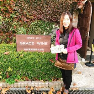 グレイスワイン、白はほんと美味しい♡