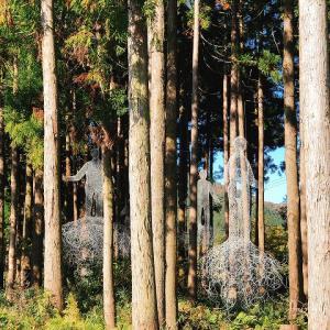 滋賀・高島へしこツアーその6 針金アート