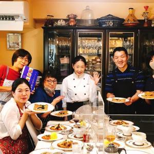 「川上文代のフランス料理認定講座」2期生11回目☆