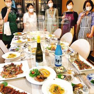「川上文代の魚料理認定講座」4期生6回目は、筋子入り鮭☆