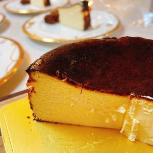 滑らか~な、マノワのバスクのチーズケーキ!