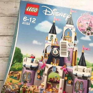 長女6歳♪誕生日プレゼントはレゴのシンデレラ城**一人で組み立てるのにぴったりでした♪