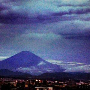 9月3日・18時30分の富士山