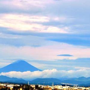 昨日の富士山の天候