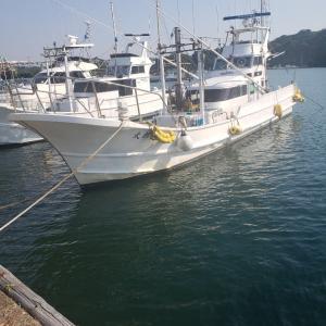 中深海釣り準備