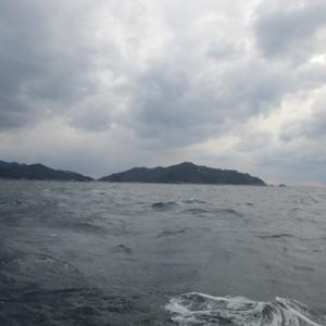 日ノ岬沖での一日