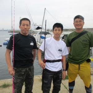 釣りガールと行く明石のタコ釣り