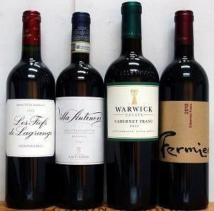ボルドーと世界の赤ワイン