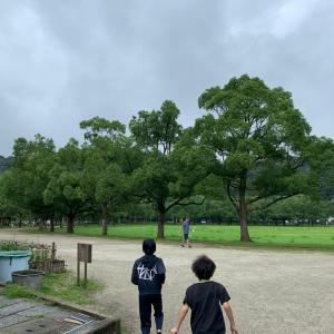 4連休初日は山田緑地へ