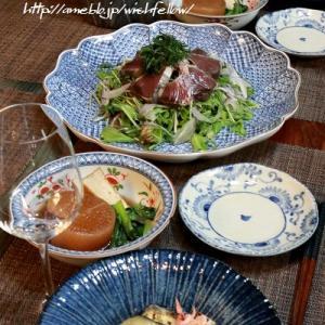 ◆鰹のサラダでおうちごはん♪