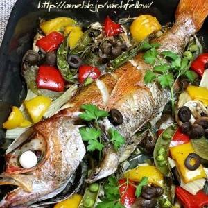 ◆パスタはアカムツの旨味でおうちごはん♪